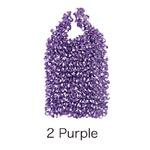 HAM-9絞りバッグ Purple