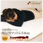 【送料無料】comfos (コンフォス) 低反発マットレス 8cm ダブル