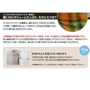 ぽかぽか温感加工マイクロファイバー毛布 チェック柄 グリーン【2枚セット】