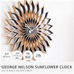 GEORGE NELSON INSPIRE CLOCK ジョージ・ネルソン サンフラワークロック ブラック