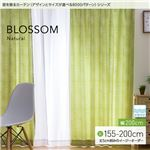 窓を飾るカーテン ナチュラル BLOSSOM(ブロッサム) 遮光2級 形態安定 (MZ) 幅200cm×丈170cm(1枚) アイボリー