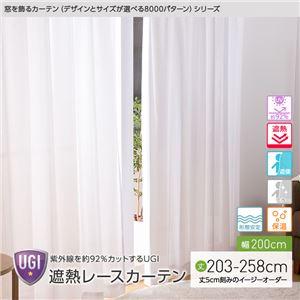 窓を飾るカーテン UGI 紫外線約92%カット ...の商品画像