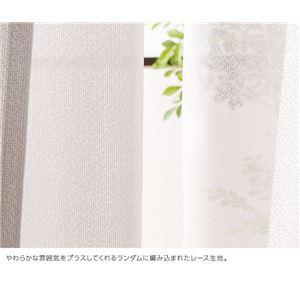 窓を飾るカーテン POWDER 防炎ミラーレー...の紹介画像3