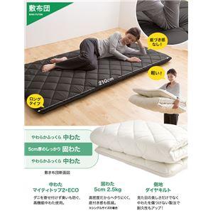 TEIJIN マイティトップ2使用 寝具セット(抗菌 防臭 防ダニ) シングル ブラック