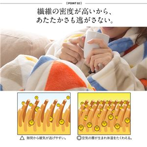 mofua プレミアムマイクロファイバー着る毛布(ガウンタイプ) 星柄 フリー グレー