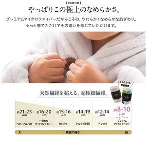 mofua プレミアムマイクロファイバー着る毛布(ガウンタイプ) ミニ ベージュ