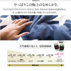 mofua 布団を包めるぬくぬく毛布 ダブル ...の紹介画像4