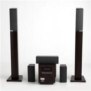 5.1chホームシアターシステム ブラック