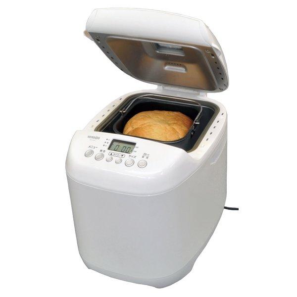 VERSOS(ベルソス) ホームベーカリー1.5 ホワイト【自宅で手作りパン】