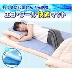 エコ・ひんやりジェル快適・快眠 クール敷パッド ¥9,702