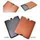 iPad ケース レザーポーチ(レザーケース) 高級感あふれるブラック♪ - 縮小画像2