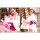 ★雑誌掲載★浴衣10点セット 麗わしローズの流れ咲き桃色なでしこガーリー 写真2