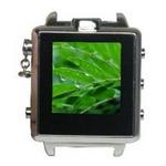腕時計型 ビデオカメラ激安! LCDシルバー時計型★800万画素!