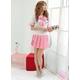 コスプレ 大きいリボンの女子制服 セーラー服 ピンク - 縮小画像2