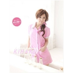 コスプレ 看護婦 ピンクの可愛いナース服 制服 コスチューム