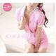 コスプレ 看護婦 ピンクの可愛いナース服 制服 コスチューム 写真2