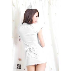 コスプレ 看護婦 白のナース服 制服 コスチューム