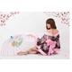 コスプレ 艶やかなピンク豪華着物 浴衣 可愛い和装ドレス - 縮小画像3