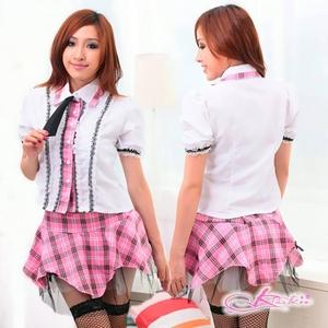 コスプレ バニエ入りスカート付女子制服 学生服
