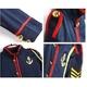 コスプレ 6点セット帽子付セーラー制服 紺色×赤ライン ガンダム風 写真5