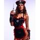コスプレ 黒×赤ナース制服 看護婦のコスチューム 写真1
