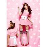 ☆ ピンクのナース服4点セット☆