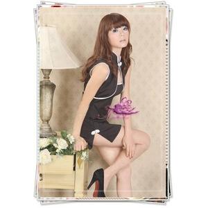 コスプレ 黒のチャイナドレス セクシーなドレス