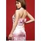 コスプレ ピンクのチャイナドレス 背中セクシーリボンキュート - 縮小画像2