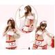 コスプレ ナース服 キャップ&ガーターベルト付ミニスカート制服 - 縮小画像1