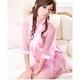 コスプレ ピンクのスケスケ浴衣 豪華着物  和物 - 縮小画像1