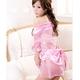 コスプレ ピンクのスケスケ浴衣 豪華着物  和物 - 縮小画像2