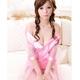 コスプレ ピンクのスケスケ浴衣 豪華着物  和物 - 縮小画像3
