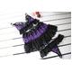 リボン&黒レース 可愛い紫の豹柄ランジェリー ブラ&Tバック - 縮小画像6