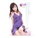 ランジェリー 紫ワンピース&Tバック