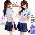 コスプレ 背中セクシーな女子制服 学生服