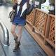 ニットinブーツ☆ダークブラウン 36 (22.5cm〜23.0cm) 写真3