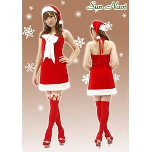 【新作!クリスマス☆コスチューム】☆クリスマスサンタ・ショートドレス S406☆