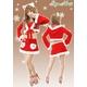 【クリスマスコスプレ】【サンタクロース 衣装】クリスマスサンタ・ショートドレス S407 - 縮小画像1