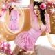 コスプレ 着物*花柄チェリーピンクのコスプレ - 縮小画像1