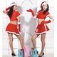 【サンタクロース コスプレ 衣装】コスプレ クリスマス*グローブ付サンタコスプレ - 縮小画像1