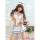コスプレ 2011新作 胸元セクシーミニスカセーラー服 3点セット 写真3