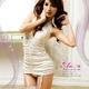 コスプレ ランジェリー 2011新作 胸元刺繍ホワイトランジェリー4点セット