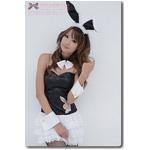 コスプレ 2011新作 バニーガール4点セット・黒