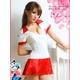 コスプレ 2011新作 セクシーミニスカ女子高生セーラー服セット - 縮小画像2