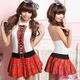 コスプレ 2011新作 セクシーミニスカ女子高生セーラー服セット - 縮小画像1
