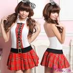 コスプレ 2011新作 セクシーミニスカ女子高生セーラー服セット