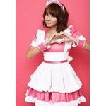 コスプレ 2011新作 Sピンクの可愛いメイドセット
