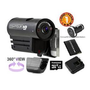 オンボードカメラ ヘルメットカメラ ContourHD1080p メガパック