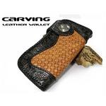 カービング ウォレット プレミアムシリーズ レザー 財布 ライダーD1