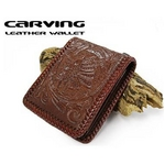 カービング ウォレット プレミアムシリーズ レザー 財布 ライダーI1